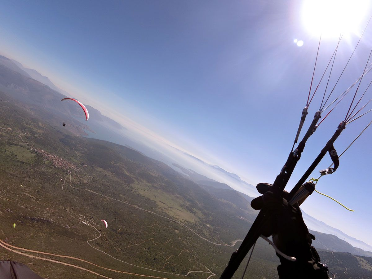 CROSS COUNTRY FLYING paragliding fun