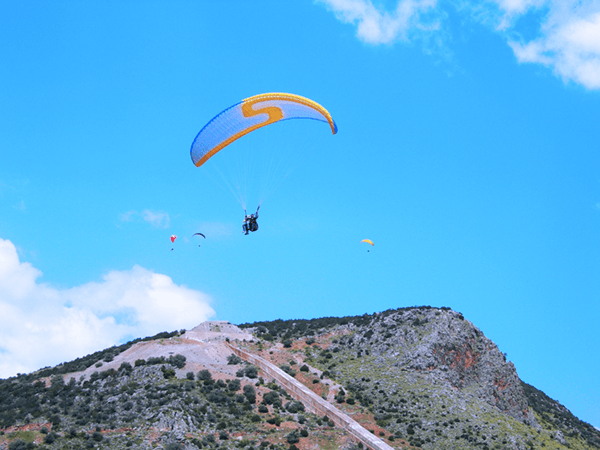 Paragliding - FIRST FLIGHTS FROM VERY LOW HEIGHTS