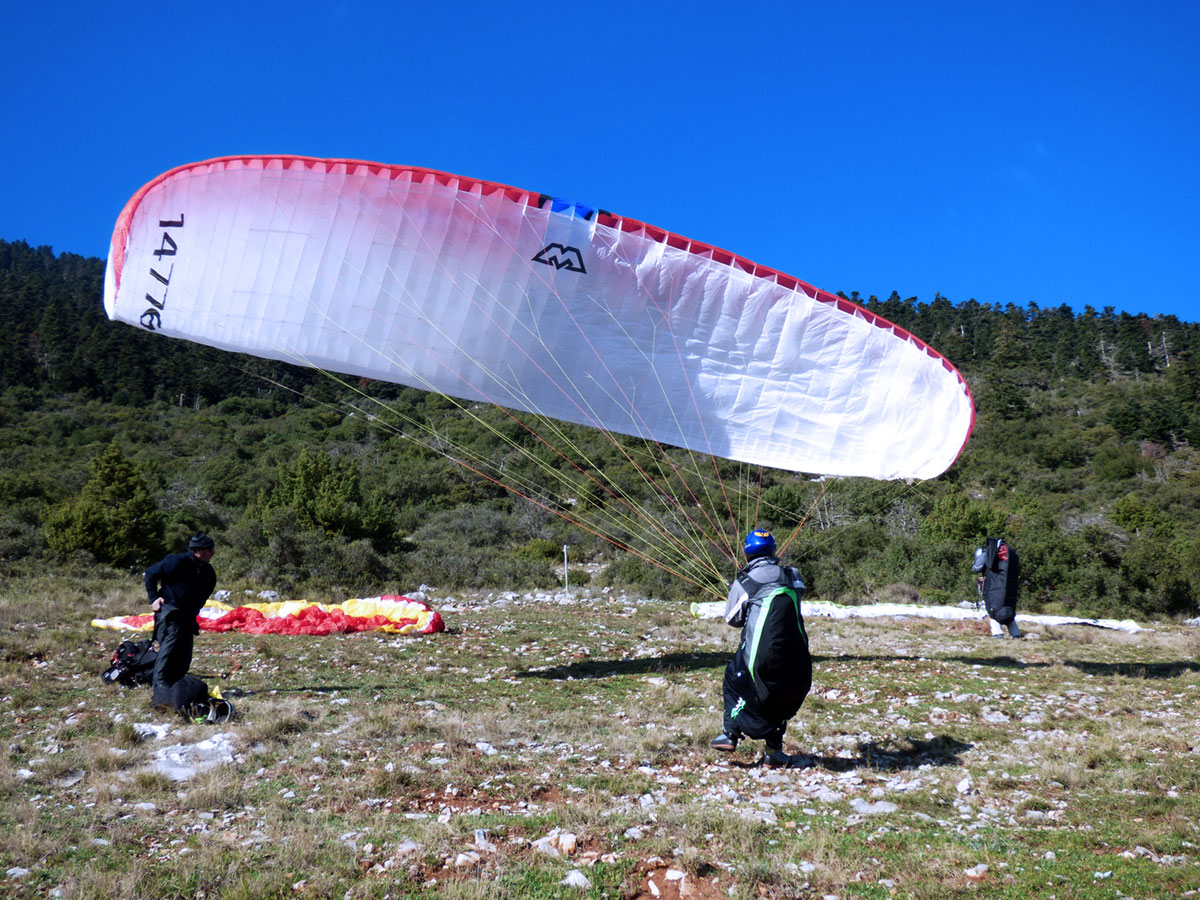 Paragliding - THE BASIC SCHOOL