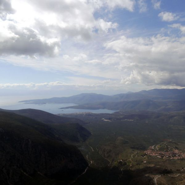 view from- delphi after take off